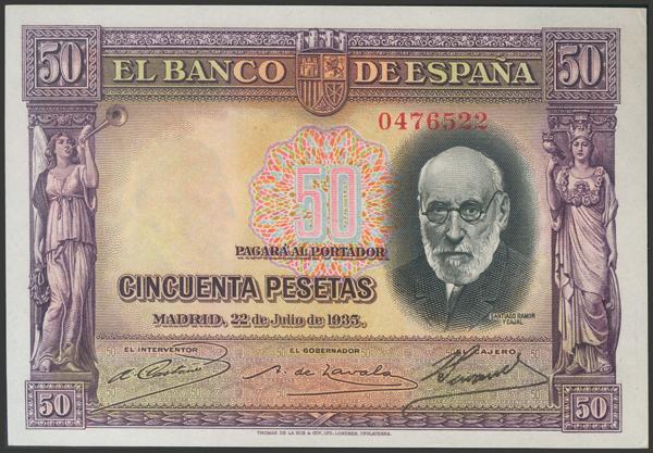 2117 - Billetes Españoles