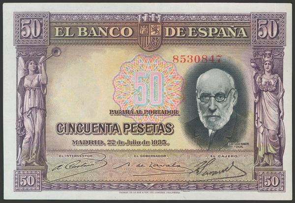2118 - Billetes Españoles