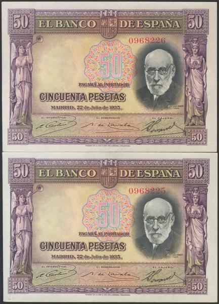 2119 - Billetes Españoles