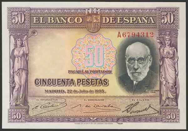2120 - Billetes Españoles