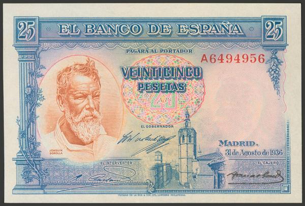 2121 - Billetes Españoles