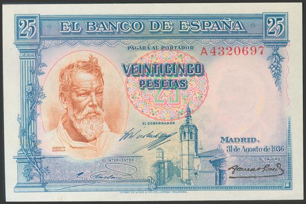 2122 - Billetes Españoles