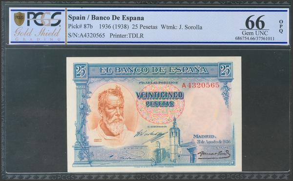 2123 - Billetes Españoles