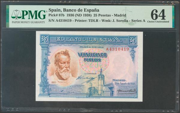 2124 - Billetes Españoles