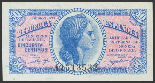 2129 - Billetes Españoles