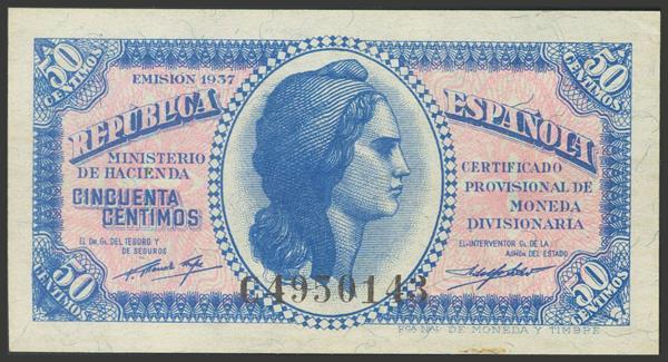 2132 - Billetes Españoles