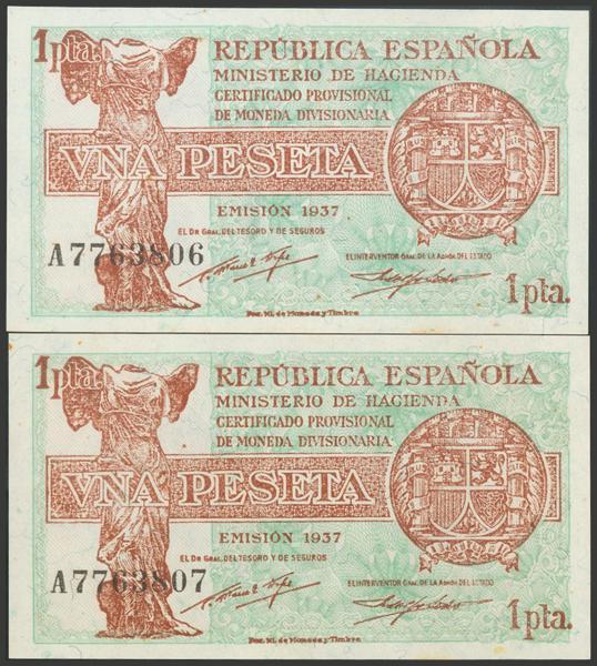 2135 - Billetes Españoles