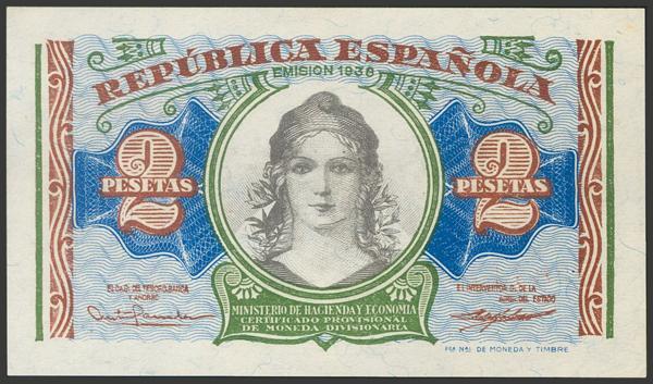 2138 - Billetes Españoles