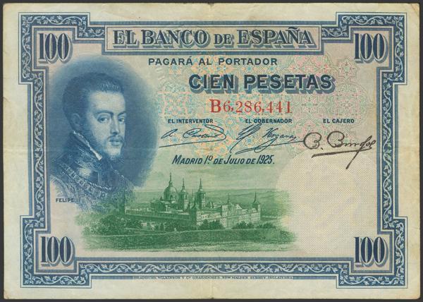 2146 - Billetes Españoles