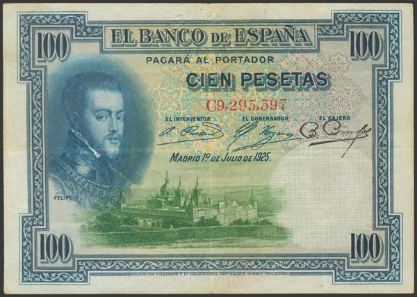 2147 - Billetes Españoles