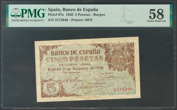 2149 - Billetes Españoles