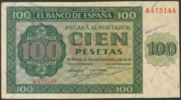 2156 - Billetes Españoles