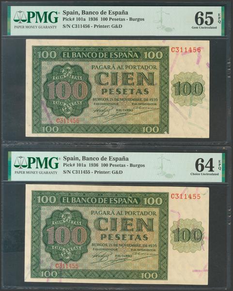 2157 - Billetes Españoles