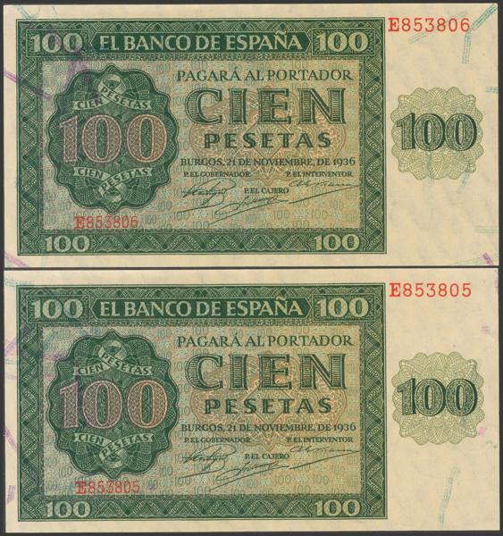 2161 - Billetes Españoles