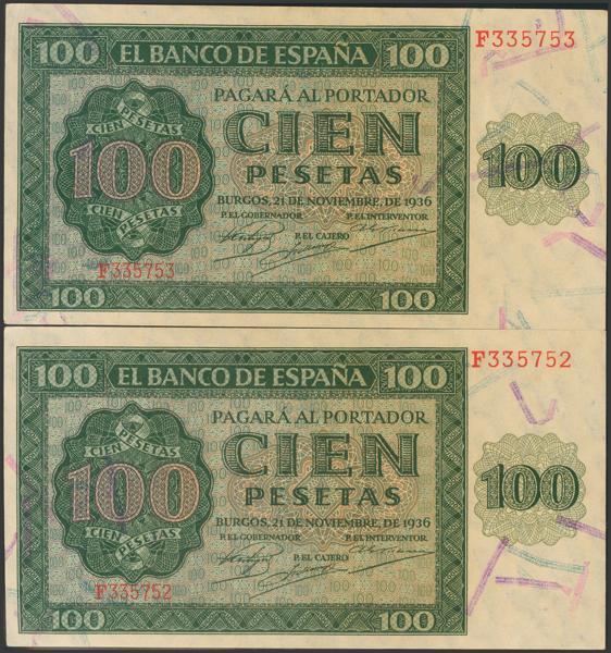 2162 - Billetes Españoles