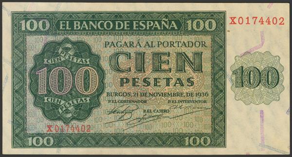 2163 - Billetes Españoles