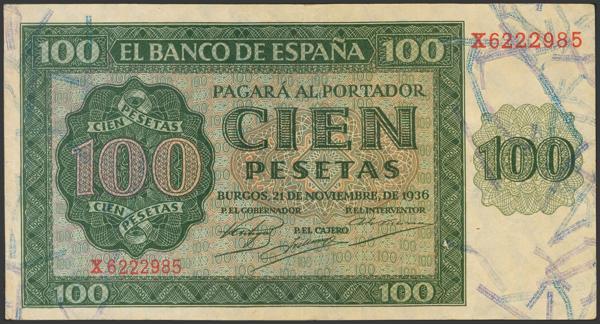 2164 - Billetes Españoles