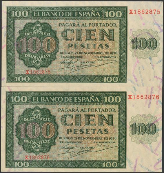 2165 - Billetes Españoles