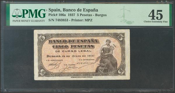 2168 - Billetes Españoles