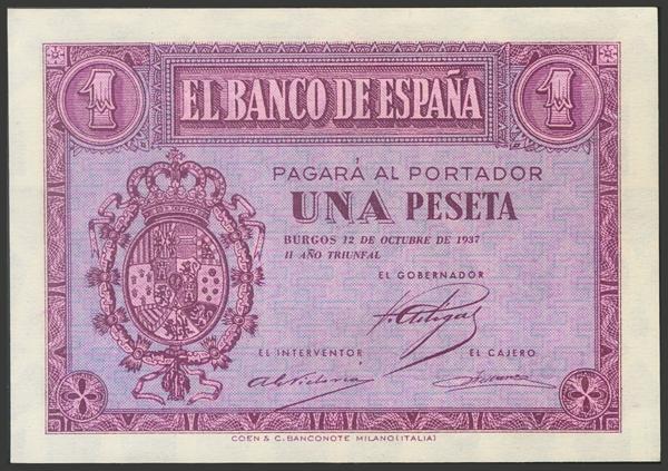 2172 - Billetes Españoles