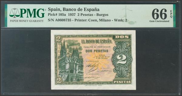 2175 - Billetes Españoles
