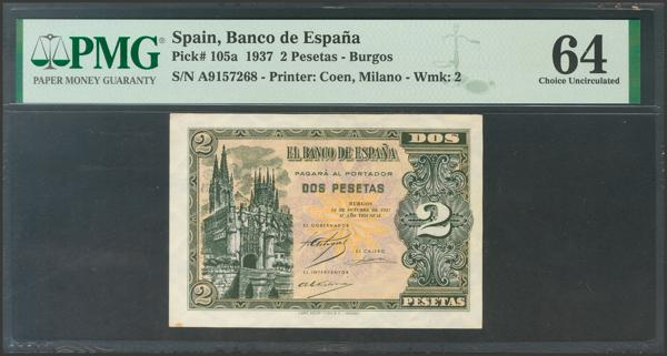 2176 - Billetes Españoles