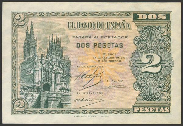 2178 - Billetes Españoles