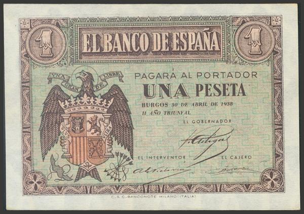 2185 - Billetes Españoles