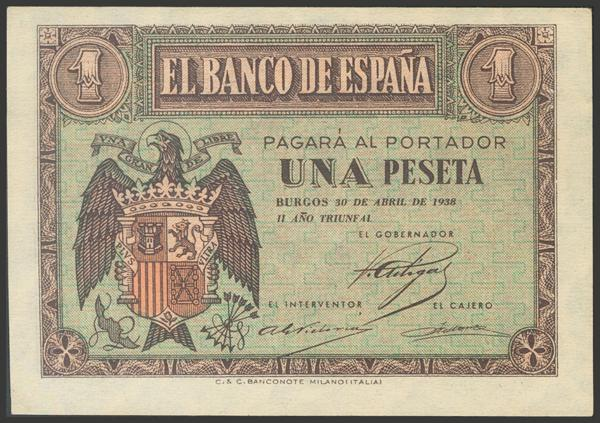 2186 - Billetes Españoles