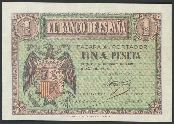 2188 - Billetes Españoles