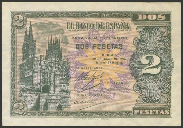 2191 - Billetes Españoles