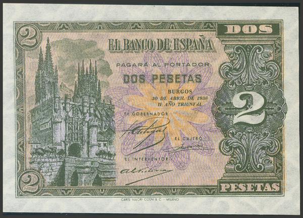 2194 - Billetes Españoles