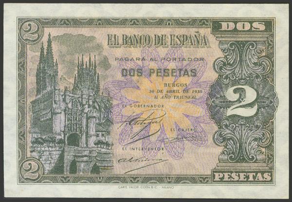 2195 - Billetes Españoles