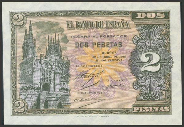 2201 - Billetes Españoles
