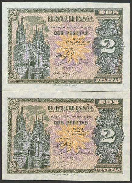2202 - Billetes Españoles