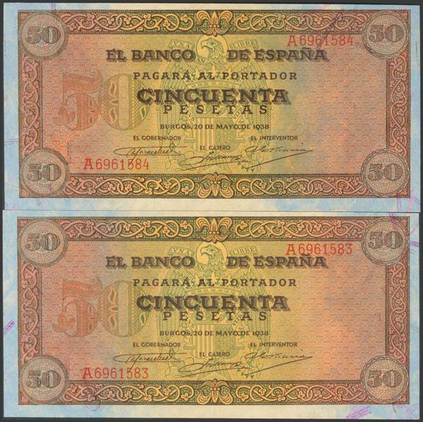2205 - Billetes Españoles