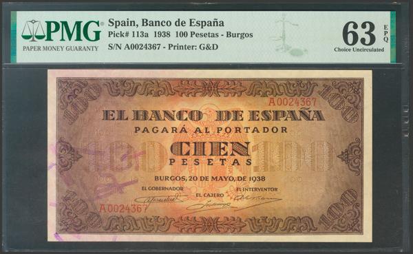 2207 - Billetes Españoles