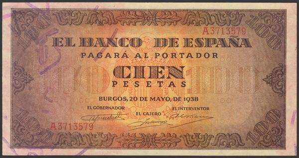 2208 - Billetes Españoles