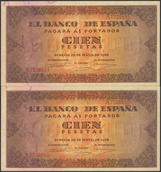 2210 - Billetes Españoles