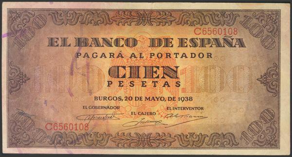2211 - Billetes Españoles