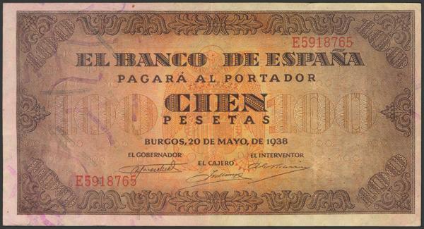 2214 - Billetes Españoles