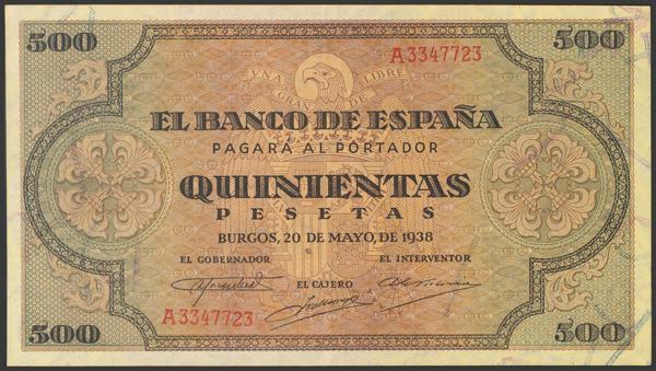 2217 - Billetes Españoles