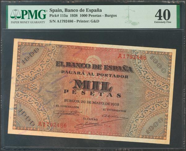 2219 - Billetes Españoles