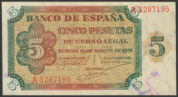 2220 - Billetes Españoles