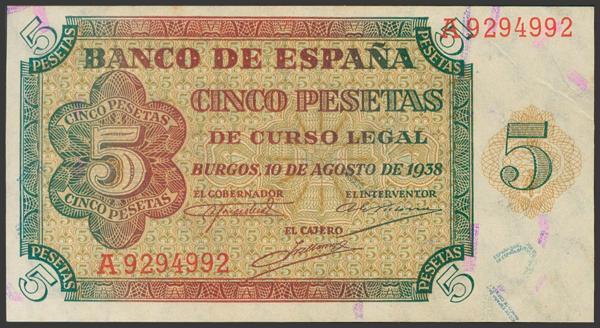 2221 - Billetes Españoles