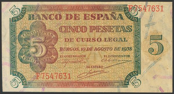 2222 - Billetes Españoles