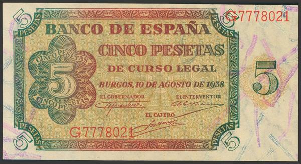 2223 - Billetes Españoles