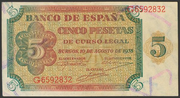 2224 - Billetes Españoles