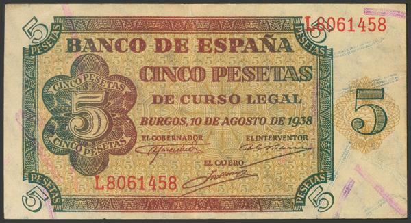 2225 - Billetes Españoles