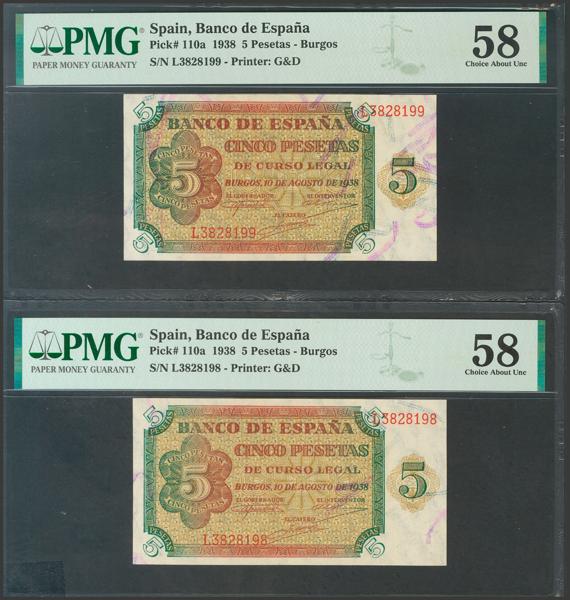2226 - Billetes Españoles